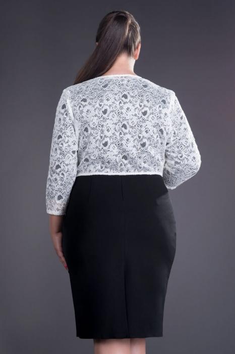 Bolerouri elegante din dantela - Bolerou elegant din dantela masuri XXL, alb 1