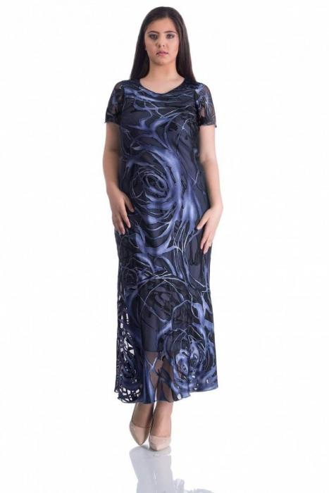 Compleuri dama marimi mari - Compleu Luciana blaumarin 1