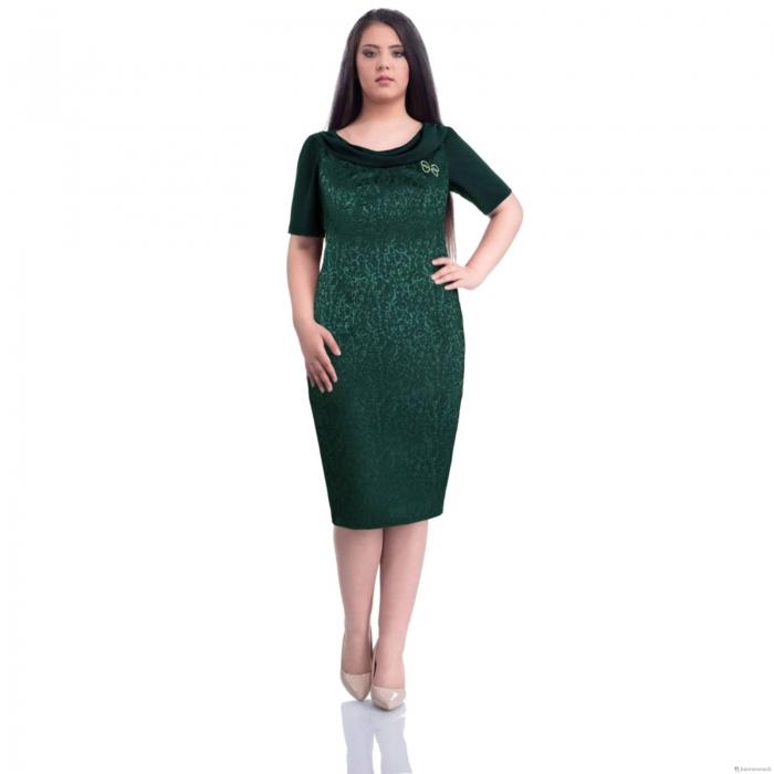 Rochii de ocazie-Rochii elegante XXL-Rochie XXL Dorina verde 0